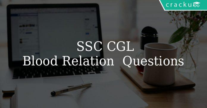 SSC CGL 2020 Blood Relation Questions