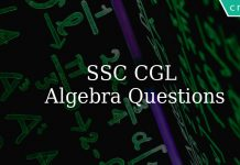 SSC CGL practice questions on algebra