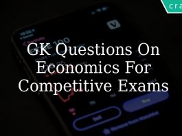Important GK Questions On Economics for Competitive Exams