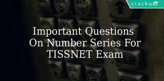 Important Questions On Number Series For TISSNET Exam
