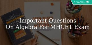 Important Questions On Algebra For MAH MBA CET Exam
