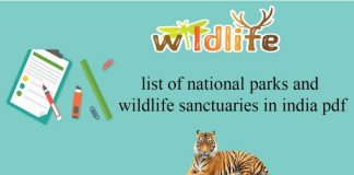 list of important national parks in india