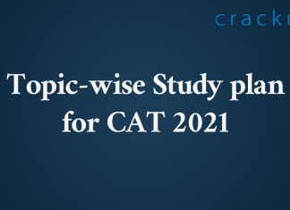 Detailed CAT Study plan