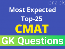 Most Expected Top-25 CMAT GK Questions
