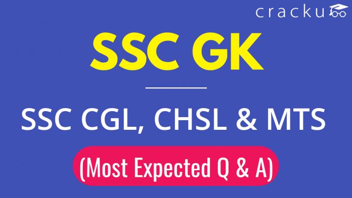 SSC GK Questions PDF