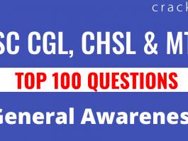 General awareness questions   Top 100 general awareness questions