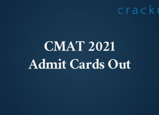CMAT Admit cards