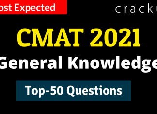 CMAT GK Questions March 29th