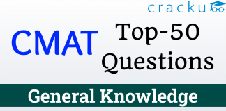CMAT Top-50 GK Questions 28th March