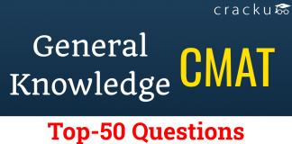 CMAT Top-50 GK Questions