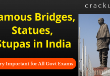 Famous Bridges, Statues, Stupas in India Download PDF