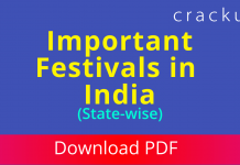 Important Festivals in India