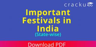 Important Festivals in India
