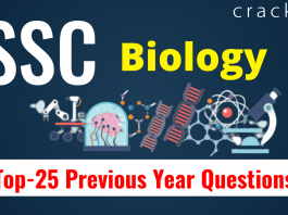 SSC Biology Questions