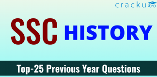SSC History Questions