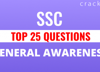 Top-25 General Awareness Questions for SSC