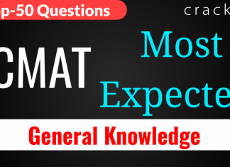Top-50 CMAT GK Questions 27th March