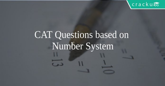 CAT Number System Quesitons