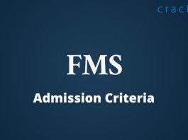 FMS Admission Criteria