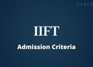 IIFT Admission Criteria