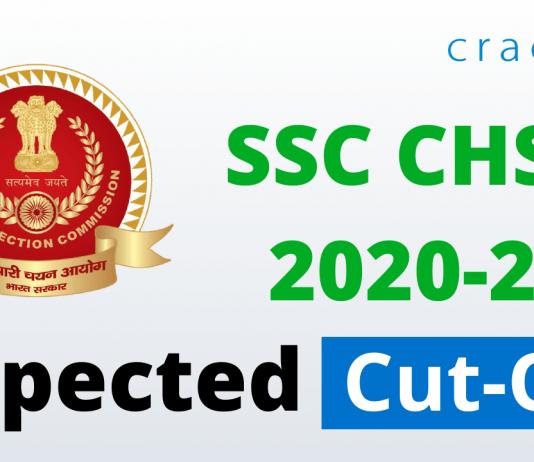 SSC CHSL 2020-21 Expected cut off