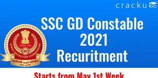 SSC GD Constable 2021 Recuritment