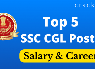 Top 5 posts in SSC CGL 2020