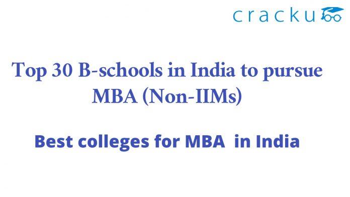 Top Non-IIM MBA colleges