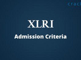 XLRI Admission Criteria
