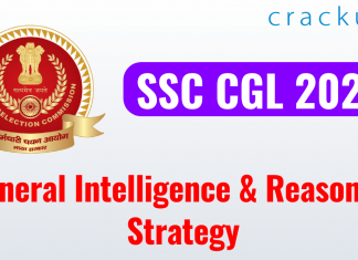 SSC CGL 2020 General Intelligence & Reasoning Strategy