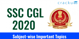 SSC CGL 2020 Subject-wise Important Topics