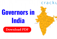 Governors in India