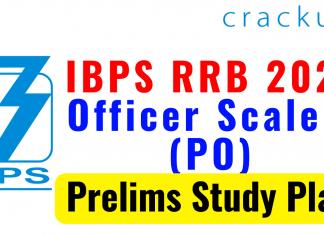 IBPS RRB 2021 Prelims Study Plan