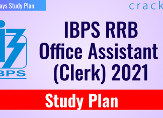 IBPS RRB Office Assistant (Clerk) Study Plan