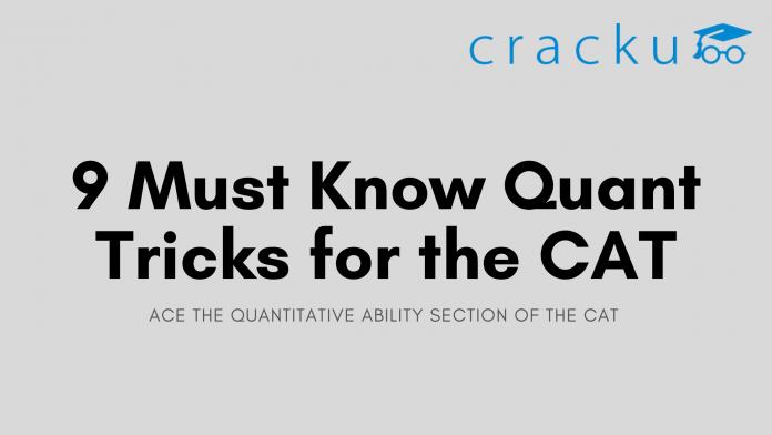 Quant Tricks For CAT