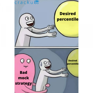 Bad mock strategy will make it impossible to obtain high percentiles