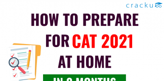 How to prepare CAT from home in 3 months