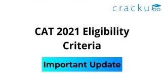 CAT Eligibility Criteria