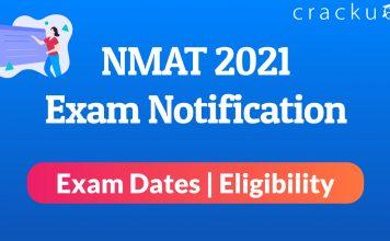 NMAT Exam notification