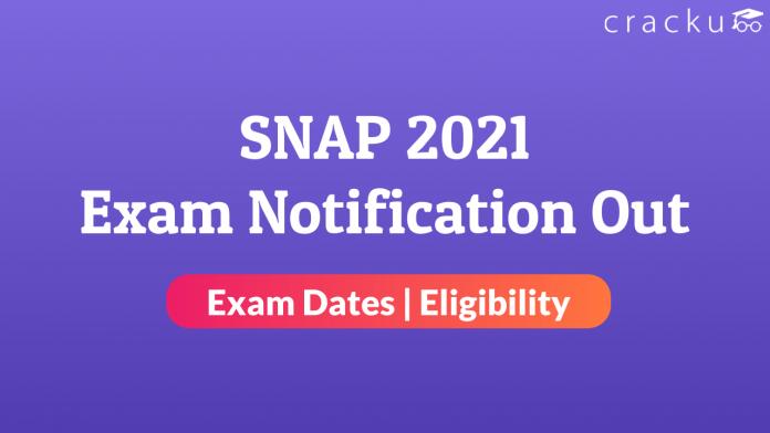 SNAP 2021 Notification