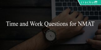 Time and Work Questions for NMAT