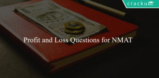 Profit and Loss Questions for NMAT