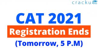 CAT 2021 Registration Ends