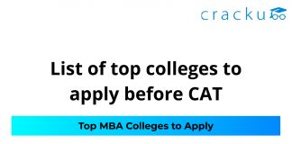 Colleges to apply before CAT