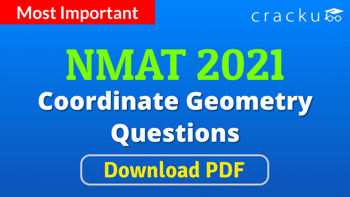 NMAT Coordinate Geometry Questions