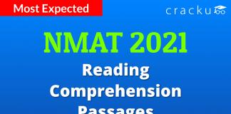 NMAT Reading Comprehension Passages