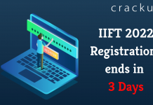 IIFT 2022 registrations last date