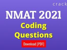 NMAT Coding Questions PDF