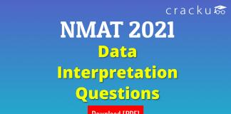 NMAT Data Interpretation Questions PDF