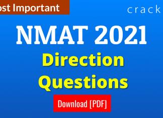 NMAT Direction Questions PDF